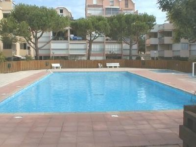 Photo for Very nice studio with terrace seen on pool