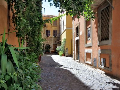 Photo for A typical  Suite in the most beautiful lane of Trastevere Vicolo della Torre