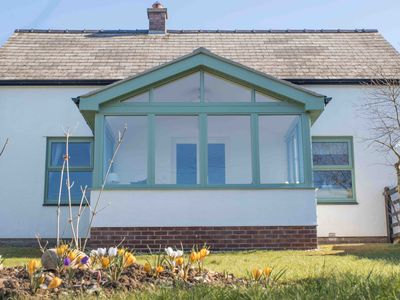 Photo for BEUDY GWYN COTTAGE. Pet Friendly. Large enclosed garden. Stunning Sea Views!