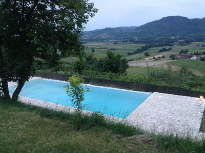 Photo for Nineteenth-century farmhouse with private pool