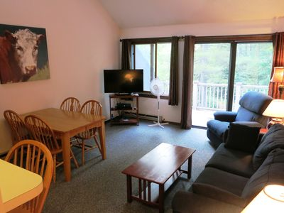 Photo for Burkeside Condo Steps Away From Lift & Lodge. KT Access
