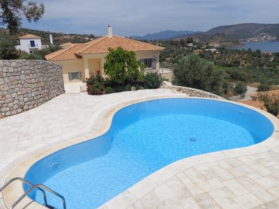 Photo for New Luxury 4 Bedroom Villa With Swimming Pool Offering Fantastic Sea View