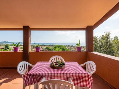 Photo for Holiday Apartment Residenza della Poiana Close to the Beach with Terrace & Fantastic Sea View