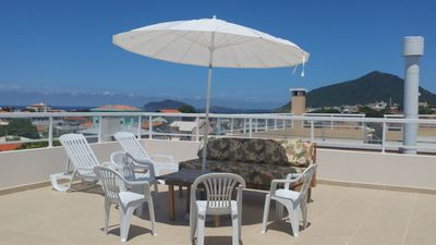 Photo for BROAD COVERAGE WITH PANORAMIC VIEW TO THE BEACHES OF ENGLISH AND SANTINHO.