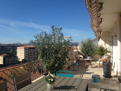 Photo for Magnificent T3 Roof Terrace Downtown