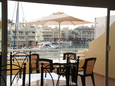 Photo for Spectacular apartment in Puerto Marina, next to the beach,