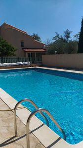 Photo for between Luberon and the Durance, in a sunny country house with pool