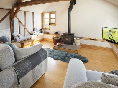 Photo for Barn at Cullis Croft offers accommodation for up to three guests.