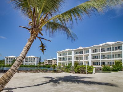 Photo for Lagoon front suite with shared pool, private balcony and breathtaking views!