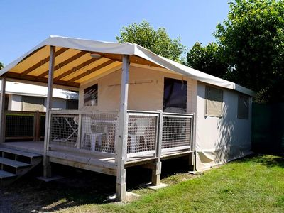 Photo for Camping Le Saint-Hubert **** - Bengali Toile 3 Rooms 4 People
