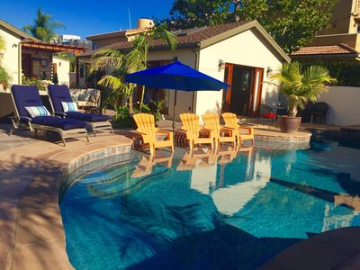 Photo for POOL VIEW CASITA OWN ENTRANCE;  FREE STREET PARKING. POOL  A/C, HEAT., TRANQUIL
