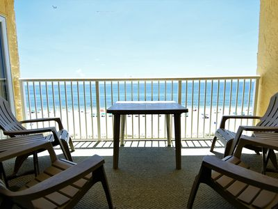 Photo for Driftwood Towers 6E ~ Beachfront  ~ Close to Everything~ Bender Vac Rentals