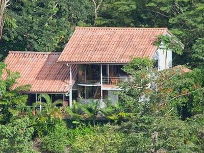 Photo for Hill-Top Villa Nestled In The Treetops With Views, Wildlife, Pool & Waterfall