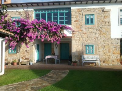 Photo for Traditional house on the Asturian coast.