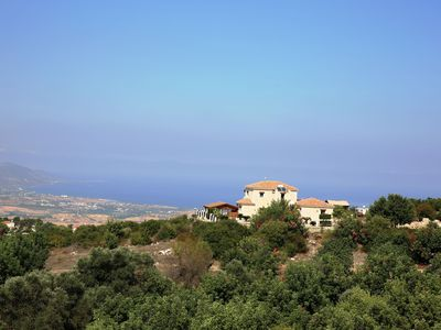 Photo for Villa Peristerona Hills -  A Secluded Stone Built villa that sleeps 6 guests  in 3 bedrooms