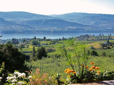 Photo for Nicely Renovated Home with Panoramic View of Okanagan Lake