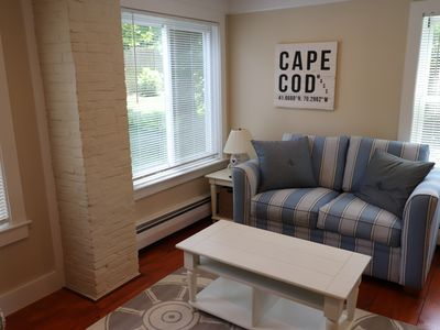 Photo for Newly renovated studio on historic Route 6A only minutes to Mayflower Beach and the Cape Playhouse