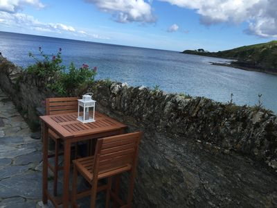 Photo for An Dyji - Portmellon  - Perfect bolt hole for 2 overlooking the sea with WiFi
