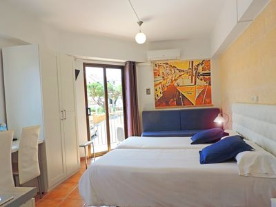 Photo for 3 people studio, two single beds and one sofabed, private bathroom.