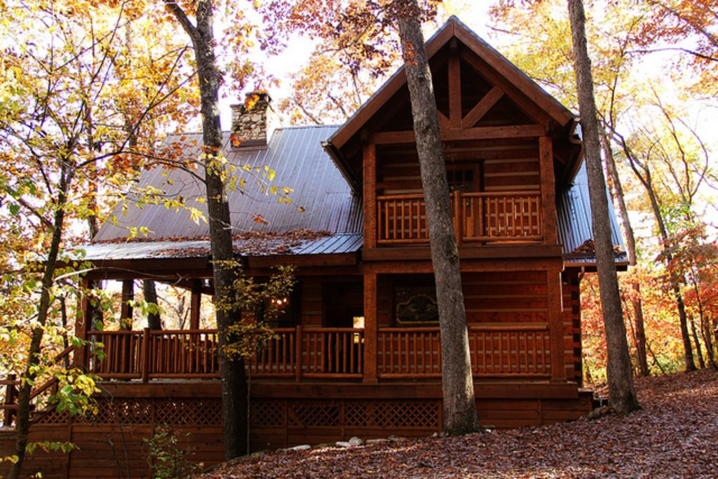 tree cabins pin springs cottages house in arkansas photo eureka