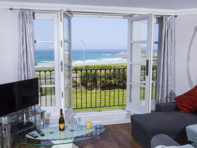 Photo for Luxury 3 Bedroom Georgian Style Town House Overlooking Fistral Beach