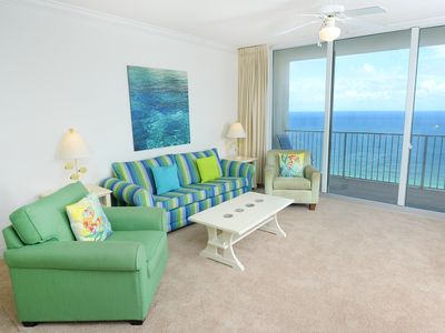 Photo for Tidewater Beach Resort 2015: 1 BR / 2 BA condominium in Panama City Beach, Sleeps 6