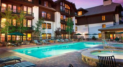 Photo for FABULOUS THREE BEDROOM at the Hyatt Mountain Lodge - SUMMER & SKI SPECIALS!