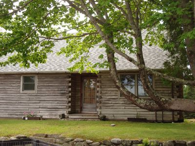 Photo for Fully renovated. centrally located log cabin.