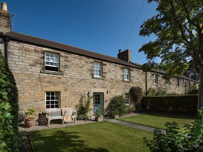 Photo for BOWLS COTTAGE, Lesbury near Alnwick - sleeps 6 with 3 bedrooms, Wi-Fi & parking