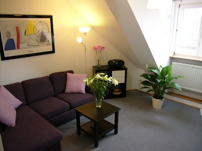 Photo for Quiet apartment in Art Nouveau building in the center, 44 m², 2 pers. from 49,- €