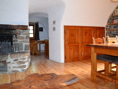 Photo for IN A VILLAGE AUTHENTIC MOUNTAIN LARGE STUDIO ANY COMFORT WITH FIREPLACE