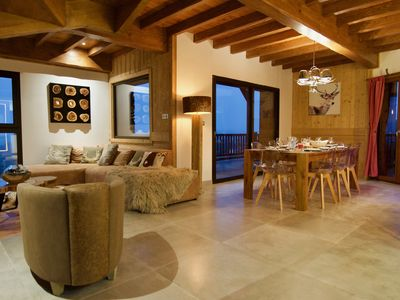 Photo for Luxury 145m2 apartment with view & SPA - 10 pers.