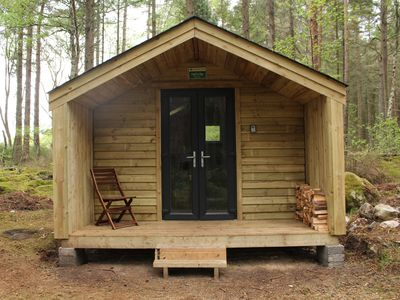 Photo for Off grid camping cabins on the Black Isle 10 Mins drive from Inverness
