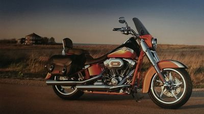 Our home was featured in the Harley Davidson 110th Anniversary brochure!