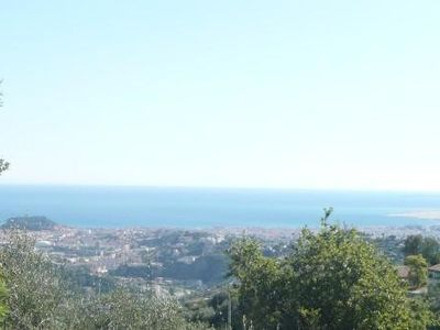 Photo for Charming studio in villa Breathtaking view day and night on sea and city of Nice