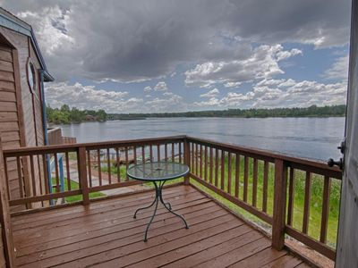 Photo for *LAKESIDE RETREAT* In White Mountains, Sleeps 8, Amazing Sunsets on the Lake!