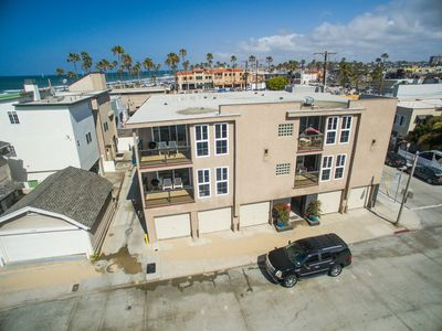 Photo for Oceanview Condo - Steps from the beach!