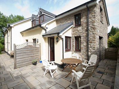 Photo for Ash Cottage is a charming two bed holiday home, one of two apartments in the heart of Oxwich, just a