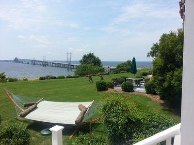 Photo for Rappahannock River waterfront property for rent with Pier &  Pool access