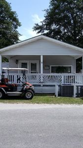 A Cozy Cottage-Like Beach House .....on a Quite area of Ocean Lakes.