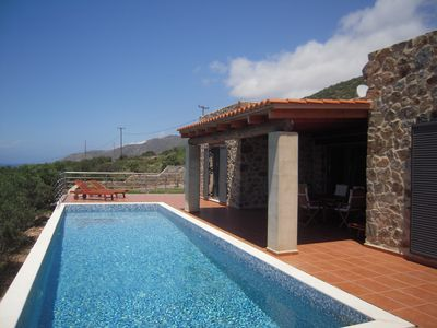 Photo for Amazing villa located in KERAMOTI, with swimming pool near Elafonissi beach