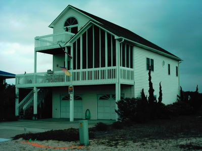Photo for Beautifully decorated dune home with surrounding decks with Ocean and ICW views