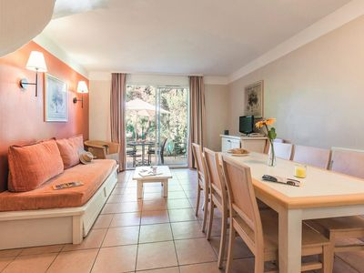Photo for Residence Pierre & Vacances Le Hameau de la Pinede *** - Air Conditioned Home 3 Rooms 5/6 People Standard
