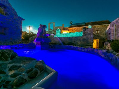 Photo for Stone House Marina -   traditional Dalmatien house with the two private pools