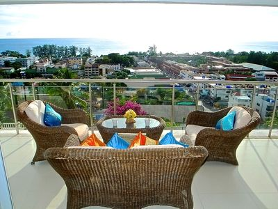 Photo for Amazing 2 Bedrooms Sea Views Karon