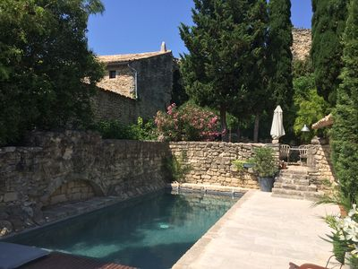 Photo for Mas Provencal sixteenth century character, swimming pool between Avignon & Vaison la Romaine