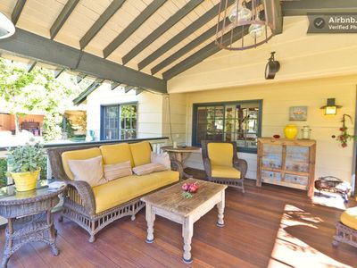 Photo for The Apple House & Cottage - Beautiful Craftsman Style Property