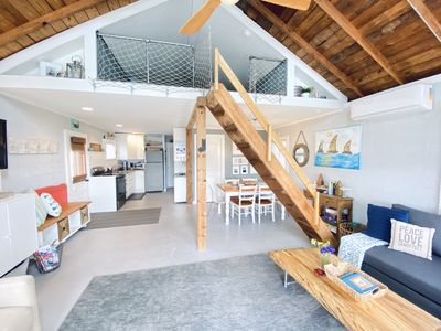 Lots of natural light& open concept.