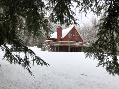 Photo for Charming and Private Catskill Chalet