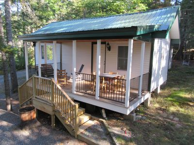 Photo for Private Cottage in Quiet Woods near Acadia National Park & Bar Harbor